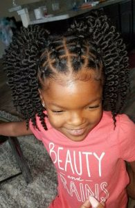Twist Out Pigtails