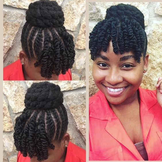 Natural Styles 35 Natural Updo Hairstyles For Prom Night