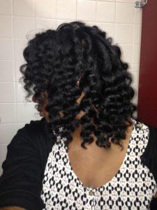 texturized hair style