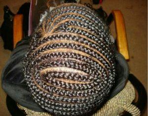 beehive braid pattern