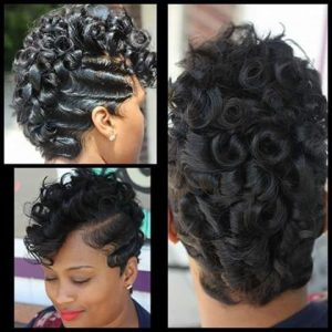 finger waves and pin curls