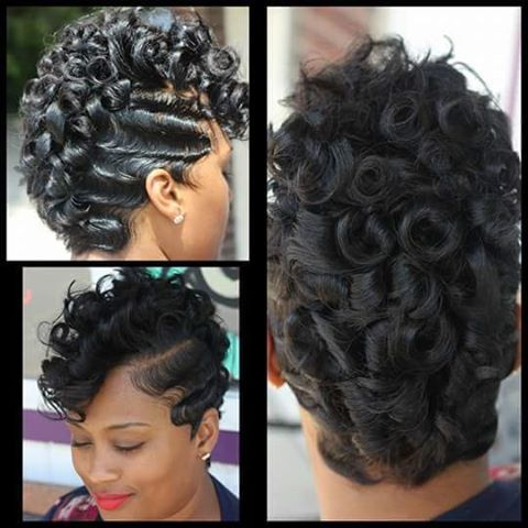 black hair finger wave styles 25 finger waves styles how to create amp style finger waves 5064