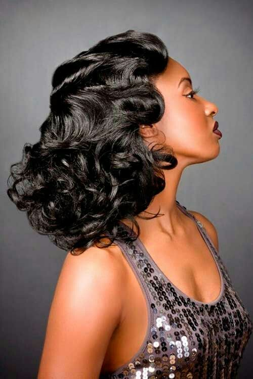 wave styles for black hair 25 finger waves styles how to create amp style finger waves 7376