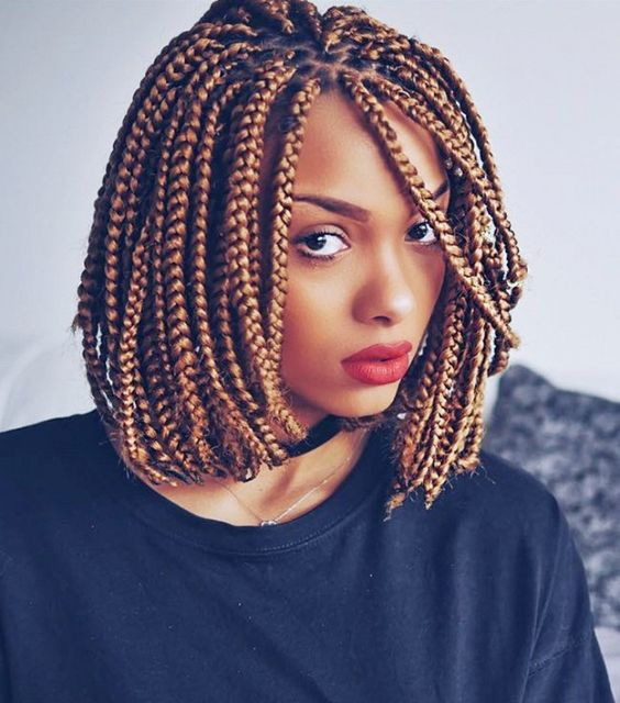 Bob Braids 30 Bob Length Braided Hairstyles