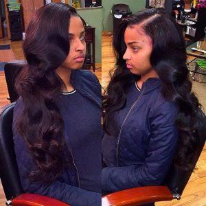 long loose curls sew in