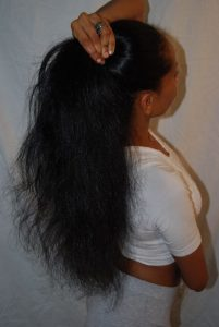 relaxed hair care