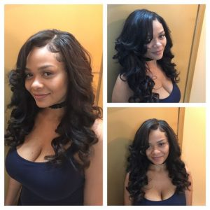25 Side Part Sew In Styles And How To Sew In Tutorial
