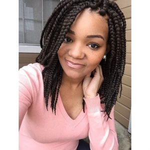 Bob Length Medium Sized Braids