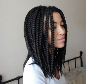 Long Bob Box Braids