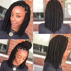 Smooth Shiny Faux Locs