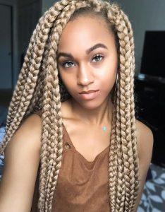 blonde dookie braids