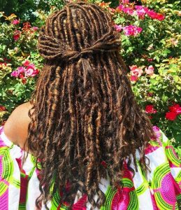 blonde ombre goddess locs