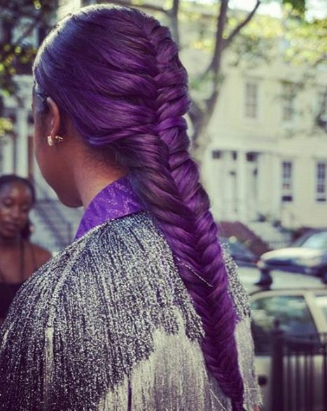 Purple Braids Styles 35 Gorgeous Purple Braids Hairstyles