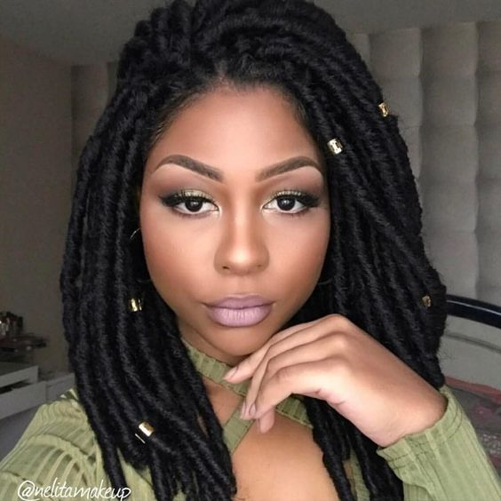 30 Short Faux Locs Hairstyles How To Style Short Faux Locs