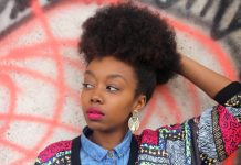 Frohawk hairstyles for black women