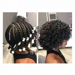 flat twist and curl
