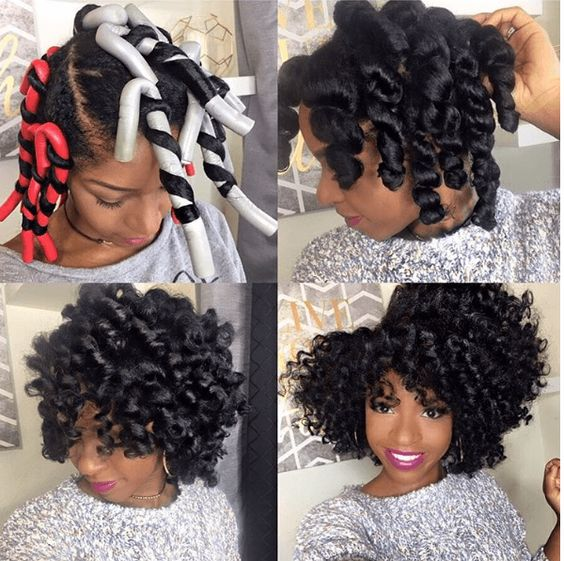 ways to style relaxed hair 35 gorgeous hairstyles for medium length hair 3854