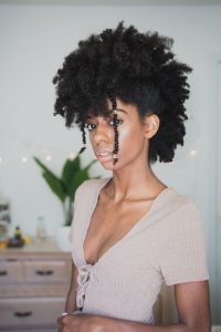 frohawk with two strand twists