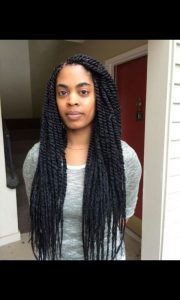 hip length rope twists