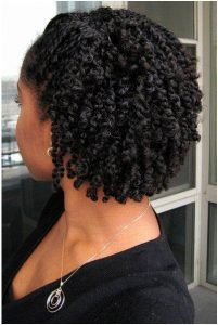moisturized natural hair
