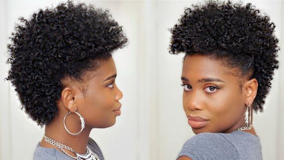 Frohawk Hairstyles For Black Women How To Frohawk Tutorial