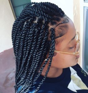 skinny rope twists