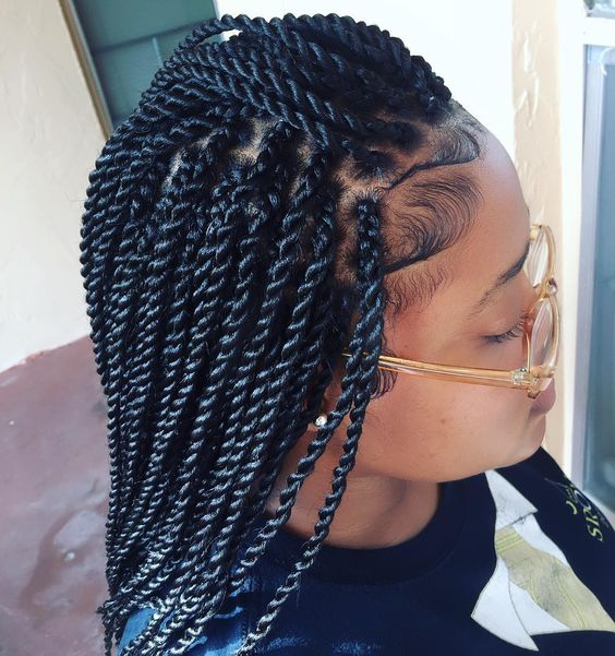 Rope Twist Tutorial How To Rope Twist Braids And Styles