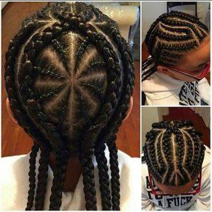 spiderweb iverson braids