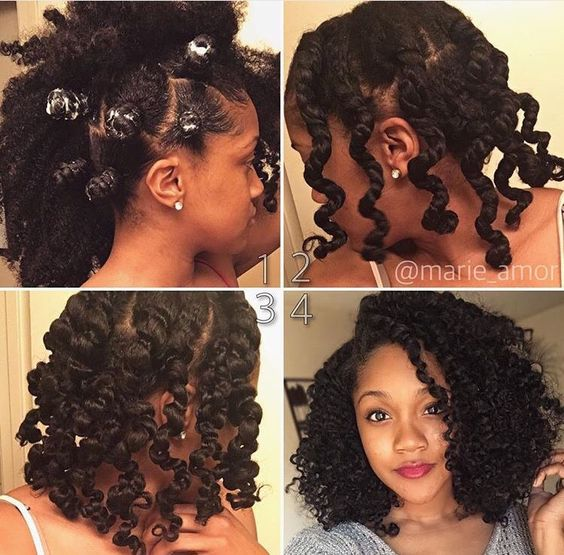 Bantu Knots Pinterest: Braid Out Tutorial For Natural Hair & 25 Braid Out Styles