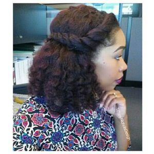Braid Out With A Twist