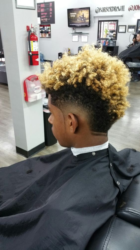 35 Burst Fade Haircuts For Men With Natural Hair