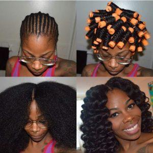 Marley Hair Crochet Braid Style