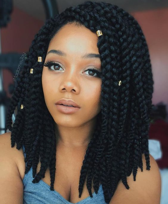 Short Box Braids 35 Gorgeous Short Box Braids Styles Part 34
