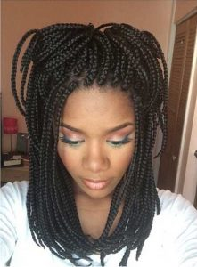 Short Poetic Justice Braids