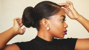 Natural Hair Sleek Edges