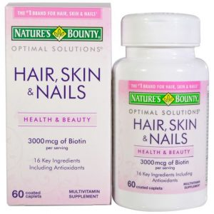 Nature's Bounty Hair Skin And Nails