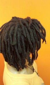 Shoulder Length Afro Dreads