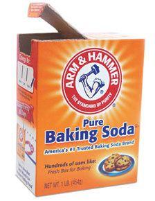 baking soda relaxer