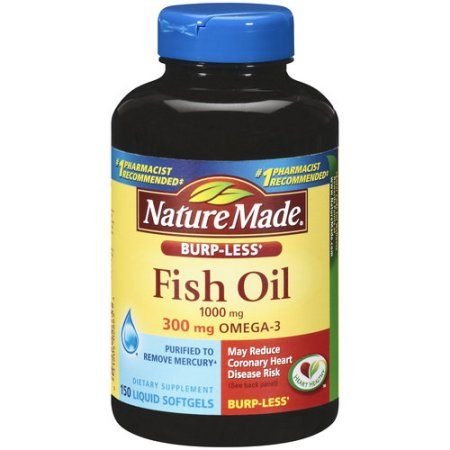 Fish oil for hair