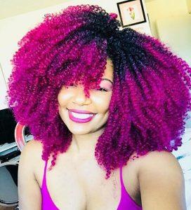 Pink Crochet Braids