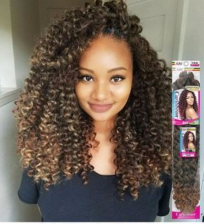 22Sun Kissed Crochet Braids With Curly Human Hair