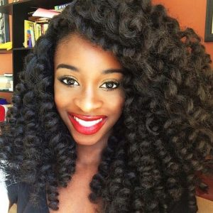 Voluminous Crochet Braids
