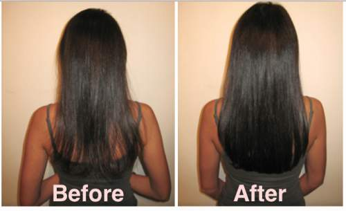 coconut oil for natural hair before and after