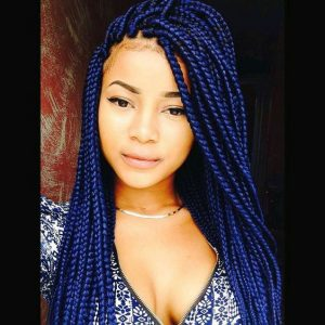 Indigo Box Braids