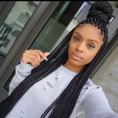 box braids preserving