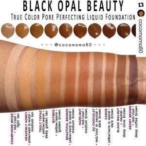 black opal liquid foundation