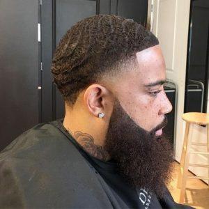 Beard And Waves