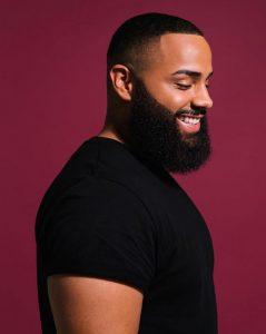 Full Beard Short Haircut