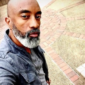 Grey And Black Beard