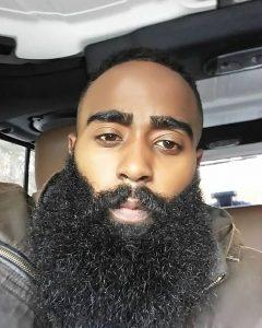 Long Textured Beard